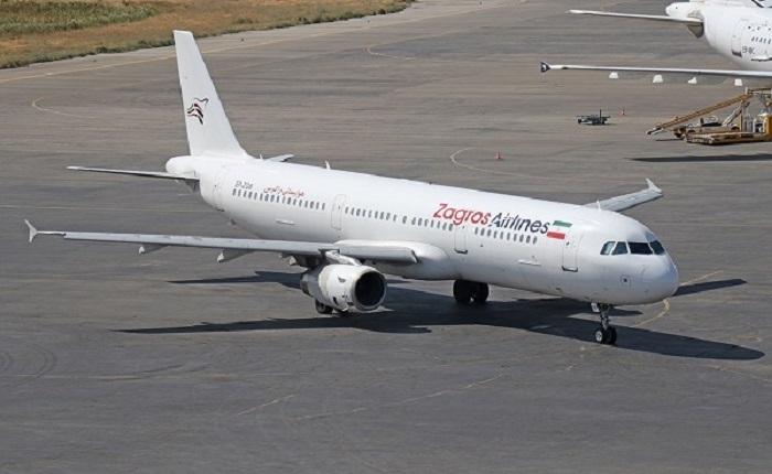 فرود پرواز مشهد- بندرعباس در فرودگاه کیش خبر کیش