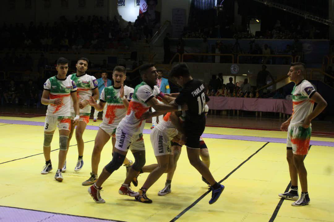 پیروزی مقتدرانه تیم ملی جوانان ایران برابر تایلند خبر کیش